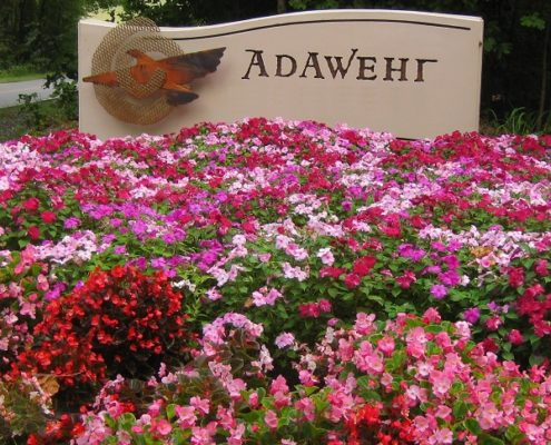 Adawehi Wellness Village Entrance