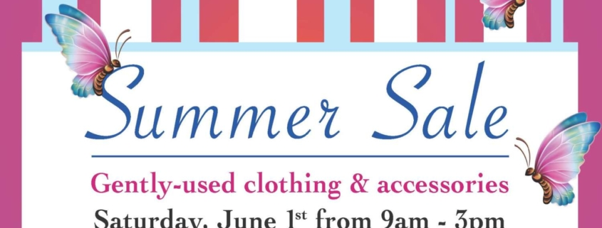 Clothing Sale Summer 2019