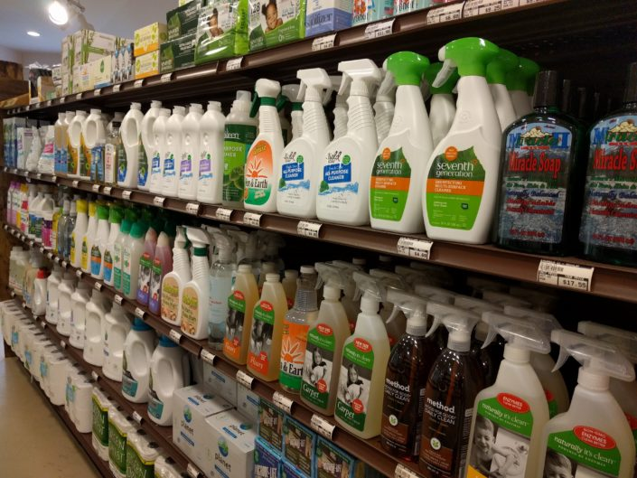 Earth Friendly Cleaning Products at Beneficial Foods Grocery