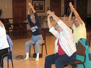 Adawehi Chair Yoga