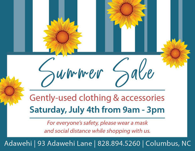 Summer Sale at Adawehi