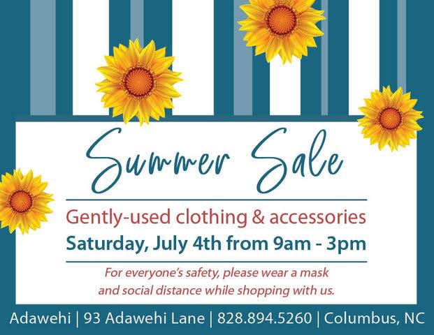 Summer Sale at Adawehi